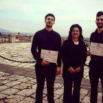 """XV Concorso Internazionale di Musica """"Città di Caserta"""", insieme agli organizzatori e a Gerardo Andrea Toro"""