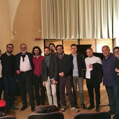 Masterclass con il M° Helmut Lachenmann e altri allievi, Conservatorio Martucci di Salerno
