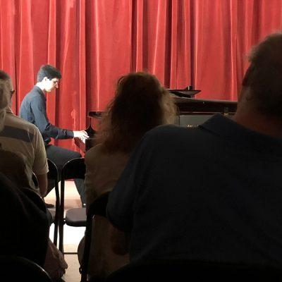Napoli, Sala Chopin, Napolitano Pianoforti