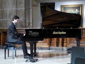 """Napoli Palazzo Zevallos, Concerto solista, rassegna """"Lo sguardo e il suono"""", Associazione Alessandro Scarlatti"""