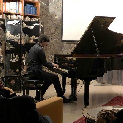 Salerno, Time-Off Space, Concerto solista