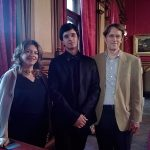Concerto solista al castello Miramare di Trieste, insieme ai Maestri Helga Pisapia e Tullio Zorzet, associazione Arte e Musica