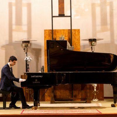 14/12/2019, Salerno - solista nei Pomeriggi Musicali Giovanili da Santarpino Pianoforti e Yamaha, Chiesa di San Benedetto