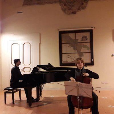 09/02/2020, Torchiara (Sa) - in duo con Alessandro Parfitt, rassegna Smart Collection del Cilento International Festival, Palazzo Baronale De Conciliis di Torchiara
