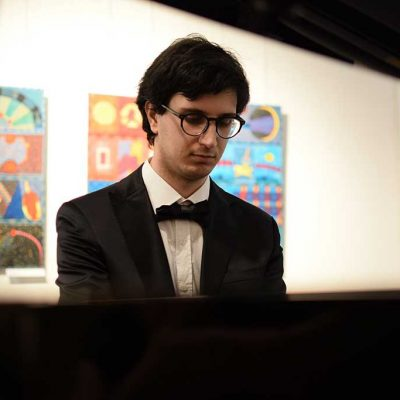 Aldo Roberto Pessolano, 21/08/2021 Concerto - Galeria Sztuki Dwór Karwacjanów w Gorlicach - © Foto: Barbara Zasowska