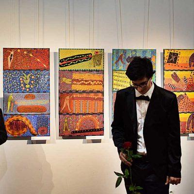 Henryk Błażej e Aldo Roberto Pessolano, 21/08/2021 Concerto - Galeria Sztuki Dwór Karwacjanów w Gorlicach - © Foto: Barbara Zasowska